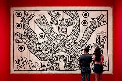 Keith Haring Exhibit at Brooklyn Museum  Keith Haring (May 4, 1958 – February 16, 1990) was an artist and social activist who frequently used his art to speak about social issues. He was one of the best known among the young artists, filmmakers, performers and musicians whose work responded to urban street culture of the 80s. Diagnosed with AIDS in 1988, Haring established the Keith Haring Foundation in 1989 to provide funding and imagery to AIDS organizations, and to ensure that his philanthropic legacy would continue indefinitely. The Keith Haring Foundation's mission is to sustain, expand and protect the legacy of Haring's art and his ideals.