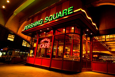 Central Cafe, Pershing Square