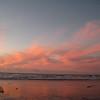 Sunset over the Tasman Sea at Greymouth