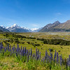 Mount Cook Valley New Zealand