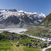 Nieuw Zeeland, Mount Cook National Park - Hooker Valley Track