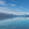 Lake Pukaki mountain reflections