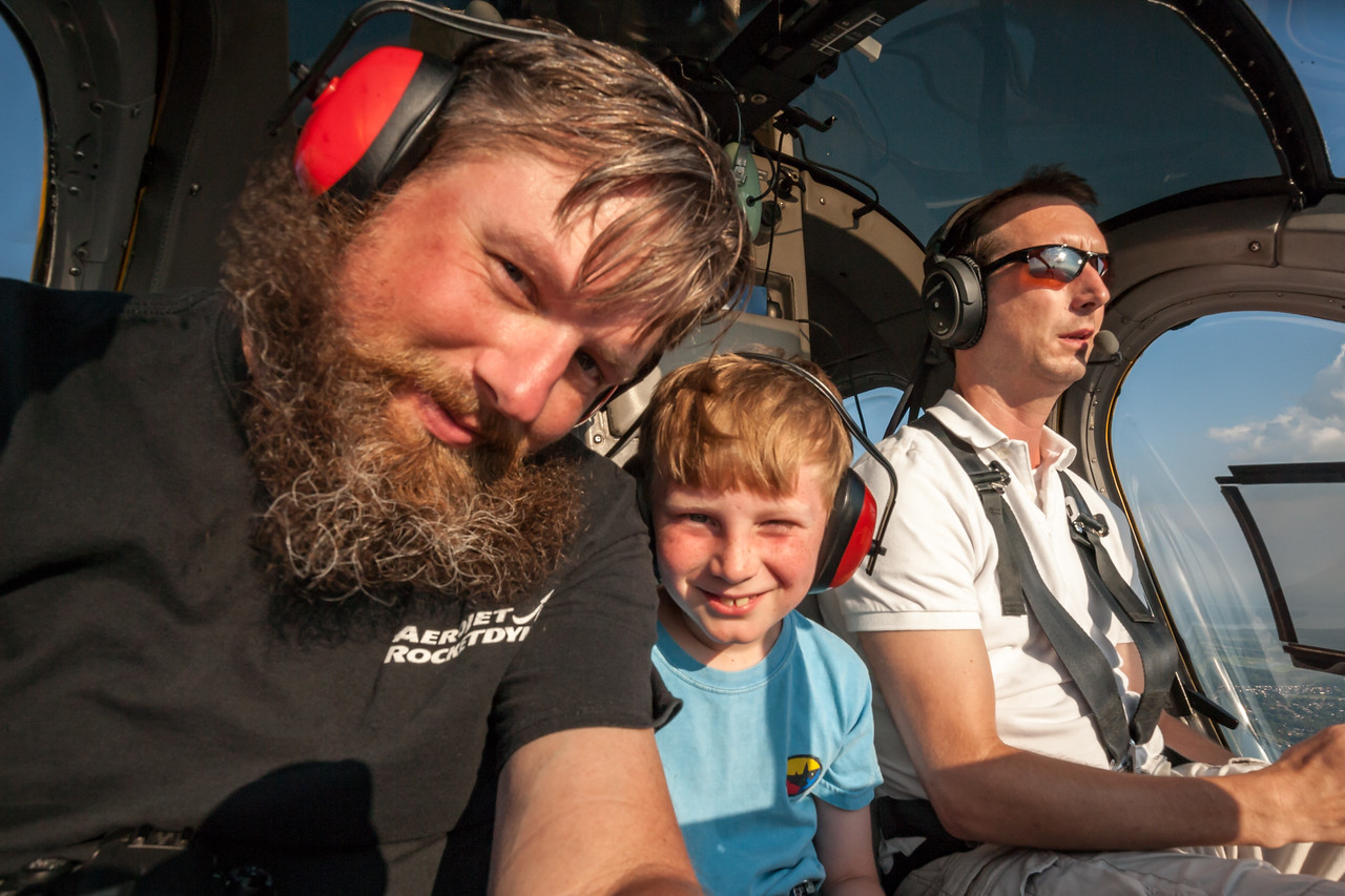 Kyle got to sit next to the pilot! August 2015, Digital.
