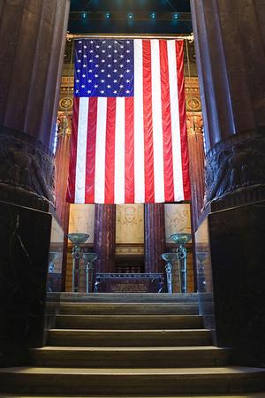 Flag in Memorial