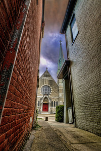 Church from Alley