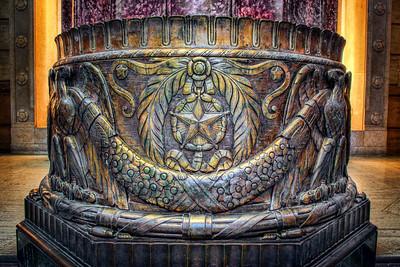 Shrine column detail