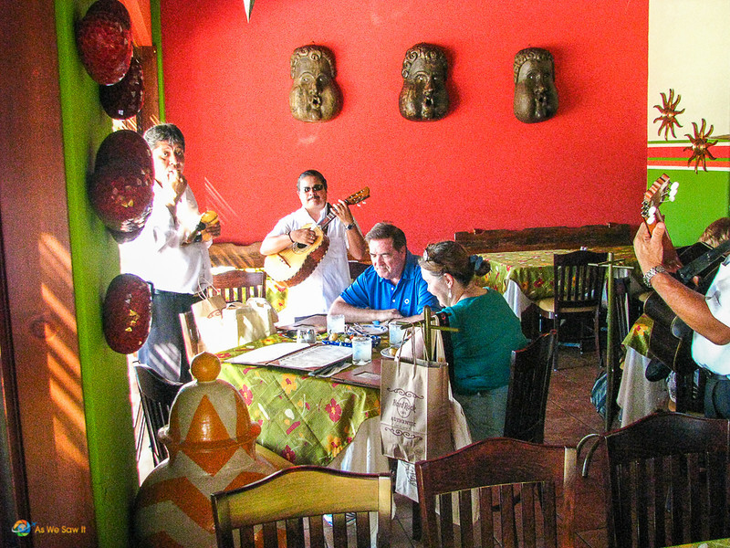 Mariachi serenades us in Cabo San Lucas. Listening to foreign music is a great form of virtual travel