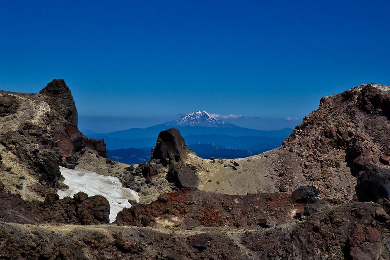 Mt Shasta fromLassen Crater