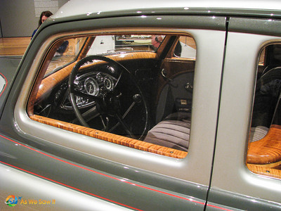 Interior of 1933 Pierce-Arrow Silver Arrow