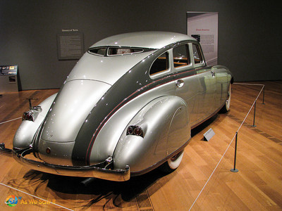 Rear of 1933 Pierce-Arrow Silver Arrow