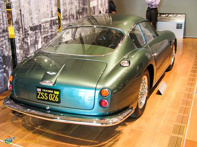 1961 Aston Martin DB4 GT Zagato rear