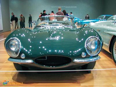 1957 Jaguar XK-SS Roadster, formerly owned by Steve McQueen