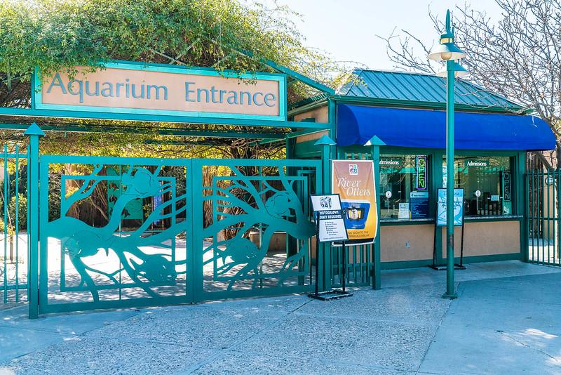 aquarium intrance as the biopark in albuquerque