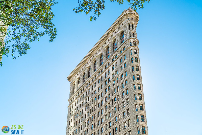 Flat iron building in Manhattan, New York City
