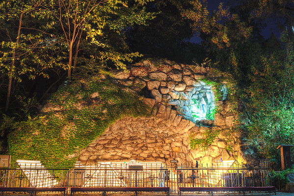 The Grotto – University of Notre Dame, Indiana