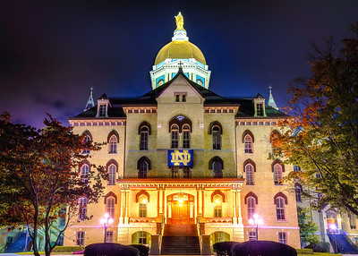The Main Building – University of Notre Dame, Indiana