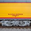 Historic Union Pacific railroad car