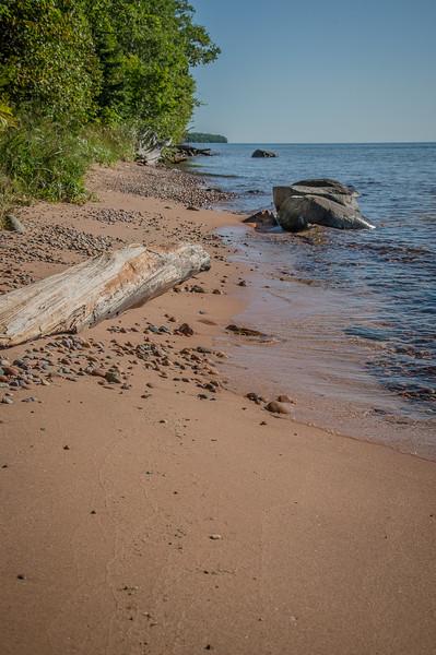 Shorelin on Rocky Island