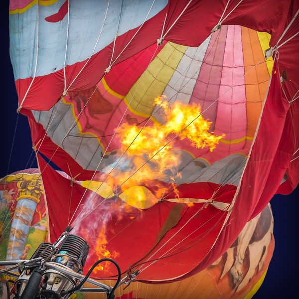 Hot air on the way