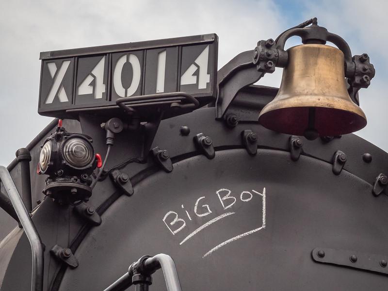 Aptly named: Big Boy 4014