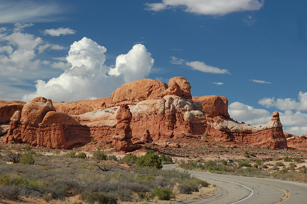 Along the road at Capitol Reef