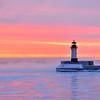 Duluth Harbor Light - Winter Sunrise