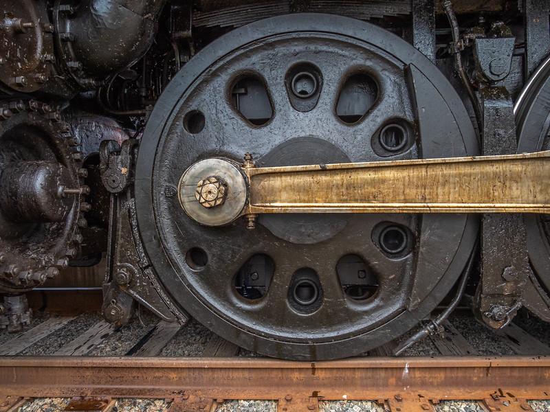 Wheel on Big Boy 4014