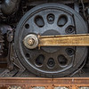 Wheel on the Union Pacific Big Boy 4014
