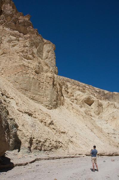Golden Canyon has no Shade