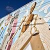 Wall mural at Mills 50