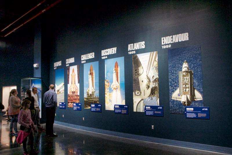 The complete shuttle program.
