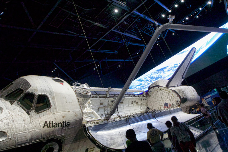Getting up close to Atlantis