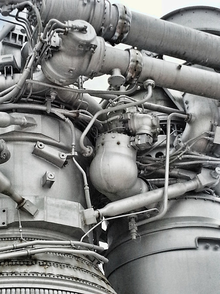 Engines up close