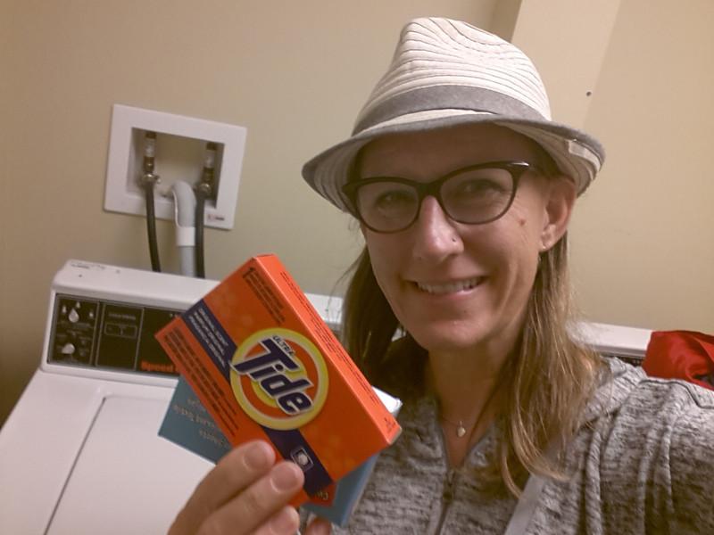 Laundry night!