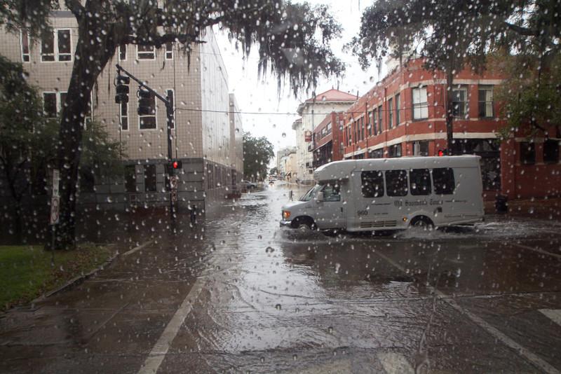 Rain storm!
