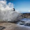 Nakalele Blow Hole erupting