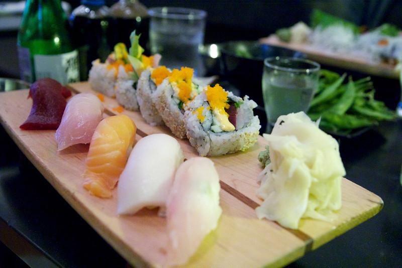 Sushi at Tank
