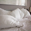 There's nothing better than a bed with lots of feather pillows...bliss!