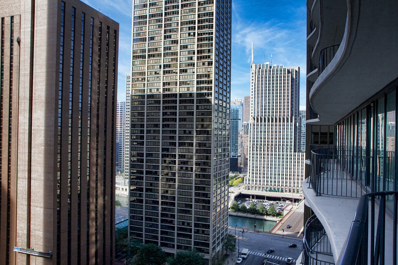 View from my Radisson Blu Aqua balcony