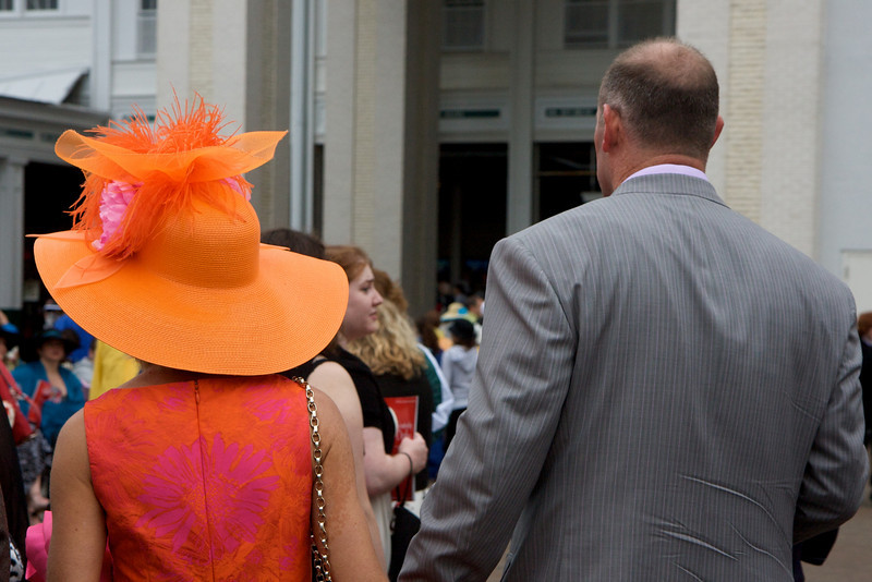 Who knew they sold orange hats?!