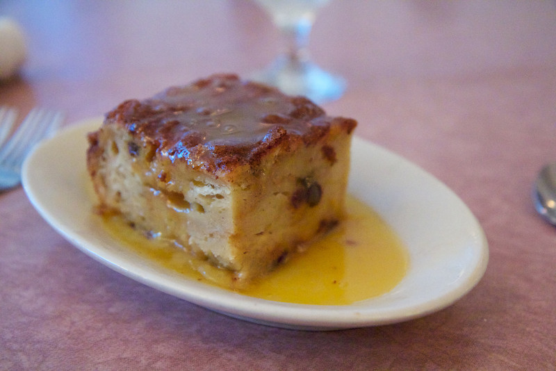 Bread pudding from Oliviers