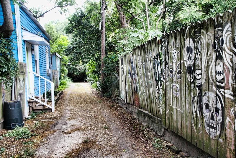 Rosalie Alley voodoo wall