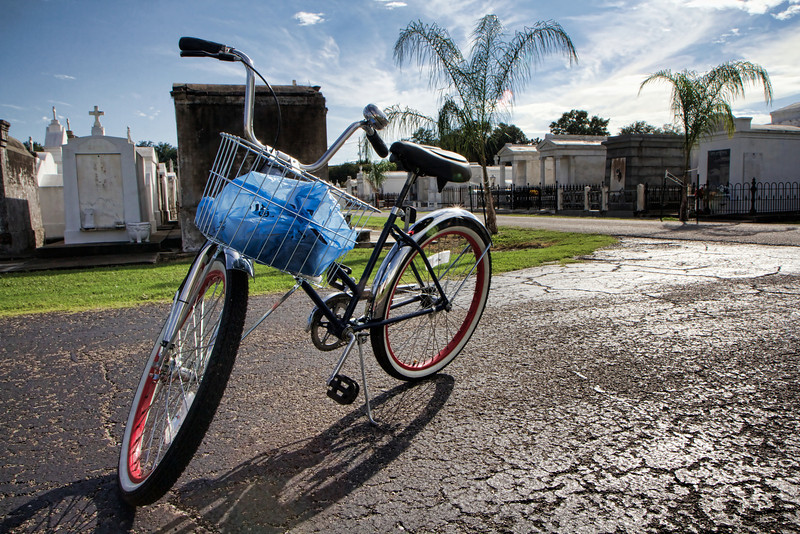 Free Wheelin' biking around New Orleans lesser visited neighborhoods