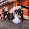 A wedding parade!