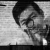 Yuki Bar - plays Japanese movies on their brick wall