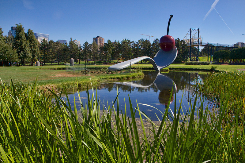 Spoonbridge and Cherry - an iconic Minneapolis scultpure