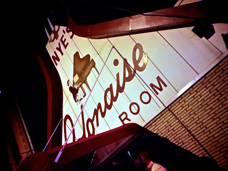 The old and quirky Nyes Polonaise Room