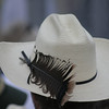A real cowboy wears feathers