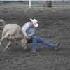 Calf wrestling