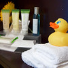My suite came complete with a rubber ducky!